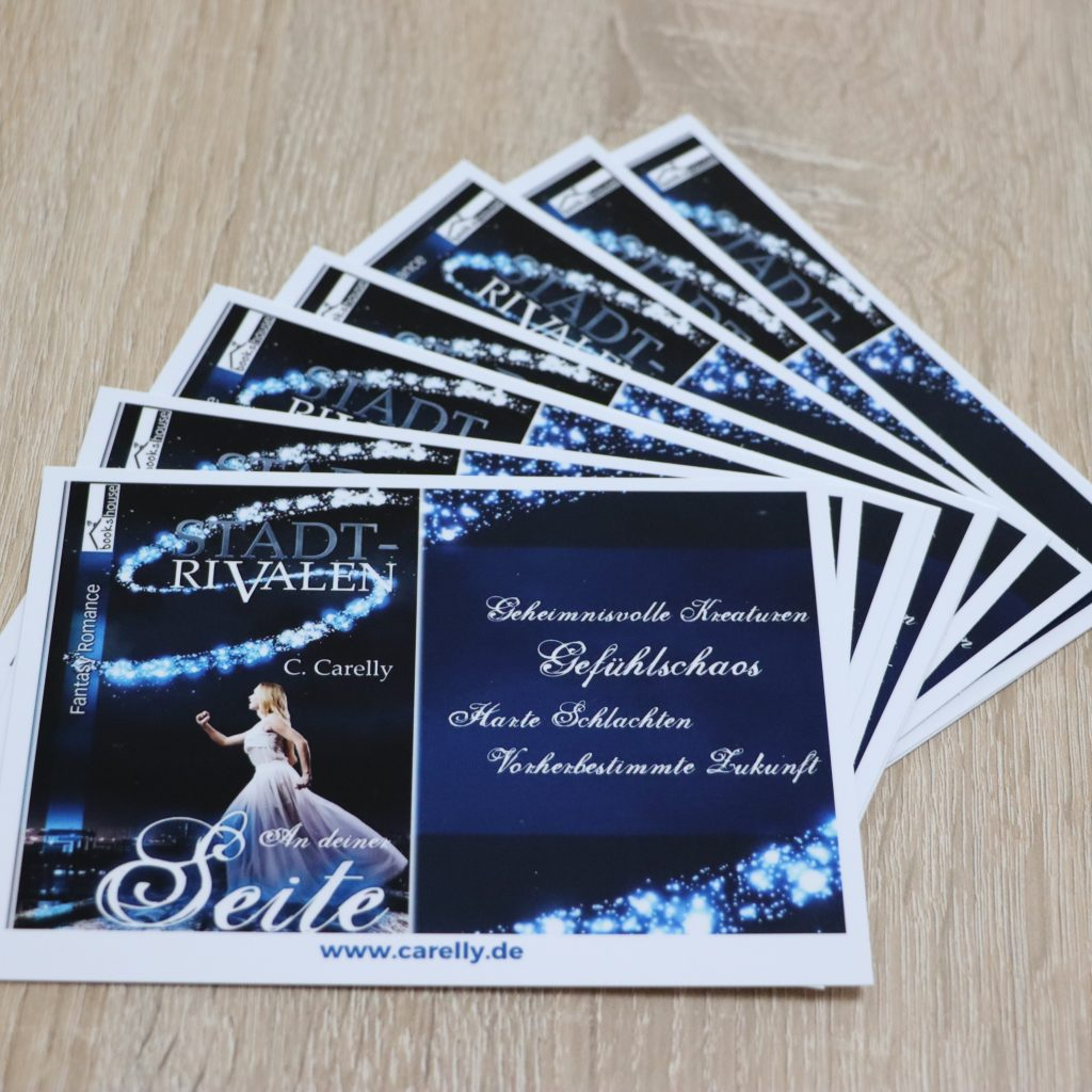 "Gimmicks: Postkarte, Motiv ""Stadtrivalen"""